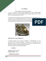 Monografia de Calcopirita