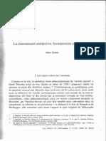 Marc Richir, La Communauté Asubjective. Incorporation Et Incarnation.