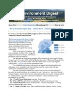Pa Environment Digest Dec. 4, 2017