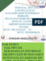Interprofesional Education - Ppt