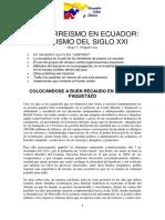 CORREISMO EN ECUADOR