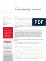 The Future of Mobile Advertising 2020 by Ogilvy One & Acision