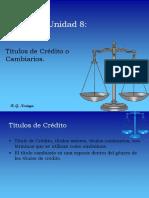 Unidad 8 Titulos de Credito