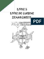 Livre de cuisine Zenarchiste