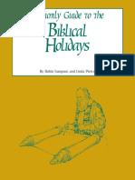 Amazing Biblical Holidays