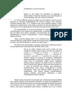 Diferenças Entre Leis Materiais e Leis Processuais [II]