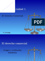 Unidad 1. El Derecho Comercial