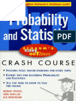 Schaum s Easy Outlines - Probability and Statistics[1]