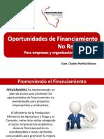 1 Oportunidades de Financiamiento