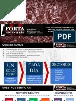 Presentación Ejecutiva FORTA 2016