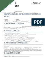 Ficha de Estudios Faciales Spa
