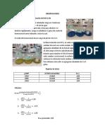 OBSERVACIONES Estandarización del HCl 0.1N