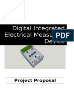 Proposal Integrated Digital Electrical Measuring Devices