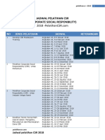 Jadwal Pelatihan Corporate Social Responbility CSR 2018