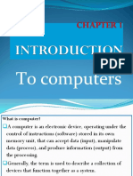 Chapter-1 Introduction to Computers