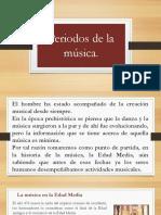 Periodos de la musica
