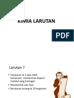 KIMIA LARUTAN