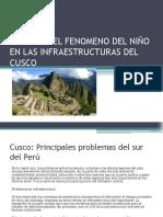 Efectos Del Fenomeno Del Niño en Las Infraestructuras