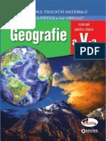 Geografie. Manual pentru clasa a V-a, Manuela Popescu, Ioan Mărculeț, Edit. Aramis, București, 2017..pdf