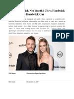 Chris Hardwick Net Worth Chris Hardwick House  Chris Hardwick Car