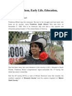 Frederica Wilson, Early Life, Education, Daughters