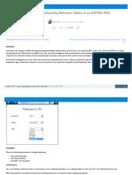 Www c Sharpcorner Com UploadFile 4b0136 How to Establish Rel