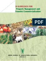 ICAR Guidelines IPM&T 2014