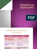 135916192 Grammatical Equivalence