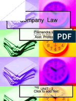 PPT on company law