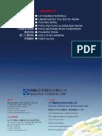 Coating Resins Catalogue 2014