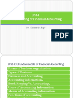 Lecture 1 Undrstading Financial Accounting