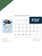 9-2010 Free Artist Calendar