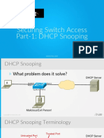 19 Securing Switch Access Part 1