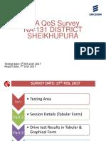 Na-131 Sheikhupura Pta Qos Survey-jazz