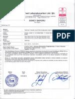 Tekpan Certificación Ipx5 (Teos)