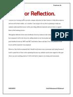 major reflection