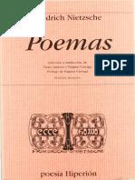 242426710 Friedrich Nietzsche Poemas Edicion Bilingue PDF