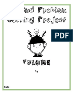 2nd  problem solving project volume