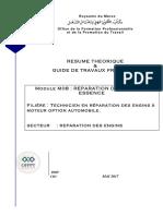 M08 Module Réparation Moteur Essence