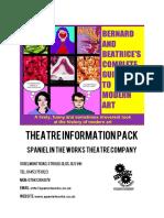Bandb Theatre Info Pack