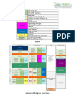 IRSEC15 Advanced Program Overview