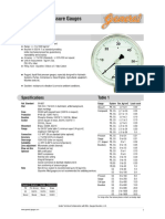 Catalogue Pressure Gauge