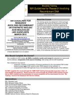 VAMC NIH Guidelines 2014hs Cm