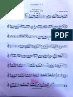 Invenzioni a 2 voci Bach - Parte I sax alto
