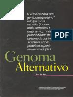 Artigo- Splicing Alternativo
