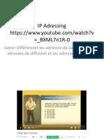 IP Adressing Pancho Training