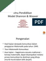 Model Shannon & Weaver-Vm