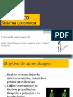 Aula 9 - Ex Fis - Sistema Locomotor
