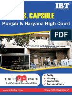 GS Capsule Punjab & Haryana High Court