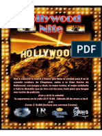 Promo Hollywood Nite